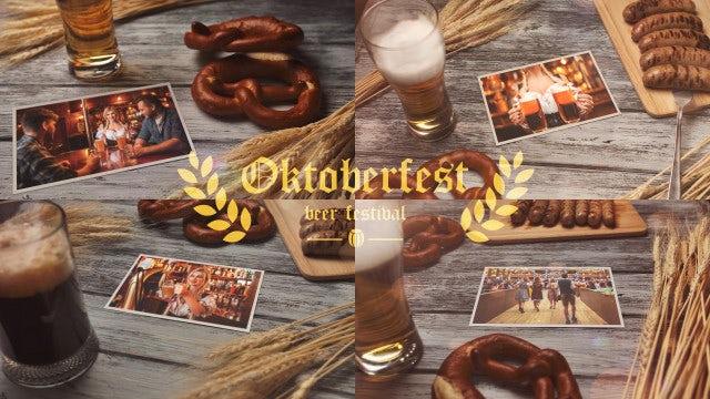 Oktoberfest Beer Festival: After Effects Templates