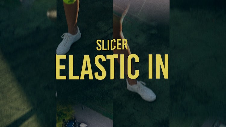 Slicer: Elastic In: Transitions