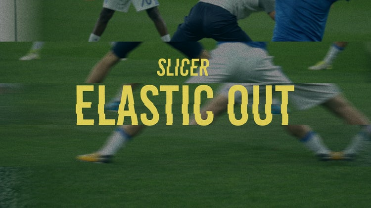 Slicer: Elastic Out: Transitions