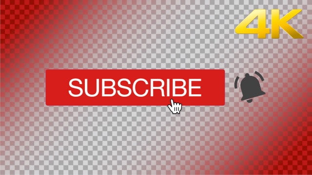 YouTube Subscribe Animation: Stock Motion Graphics