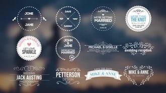 <h2>Wedding Badges &amp; Titles</h2>: