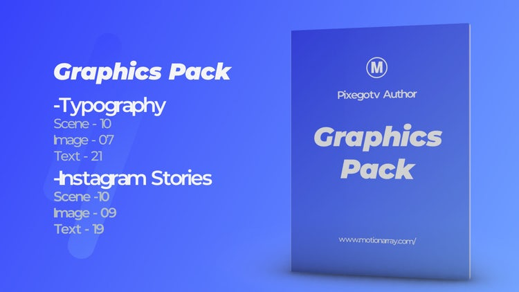 Graphics Pack: After Effects Templates