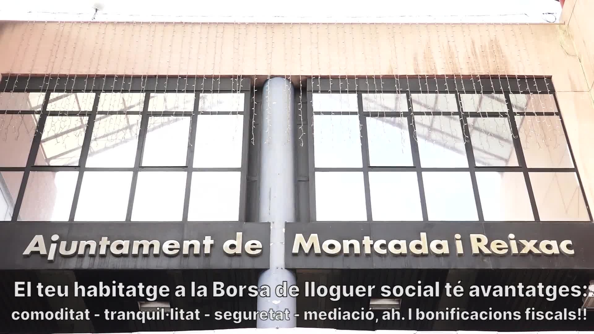 Campanya Borsa d'Habitatge a Montcada i Reixac