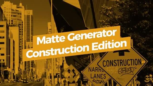 Matte Generator