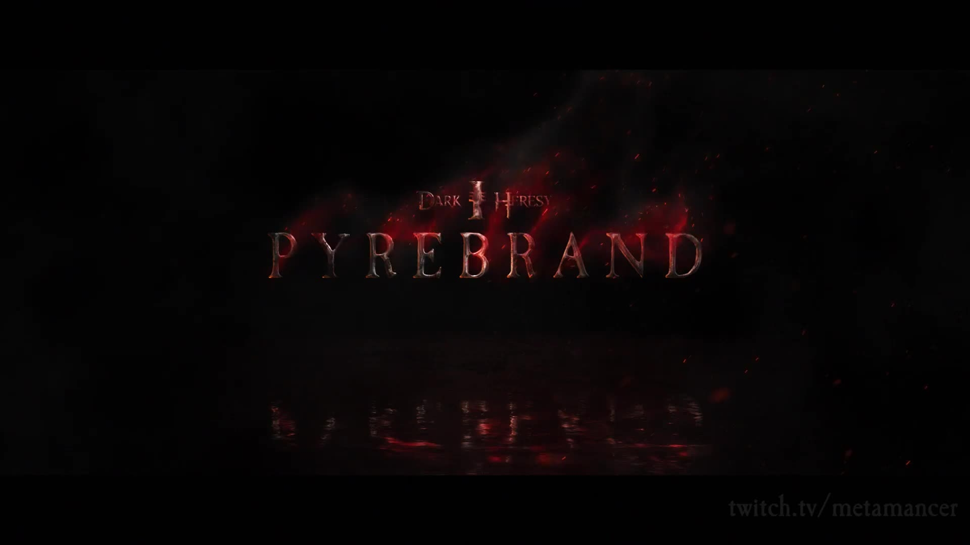 Dark Heresy Pyrebrand Logo Reveal