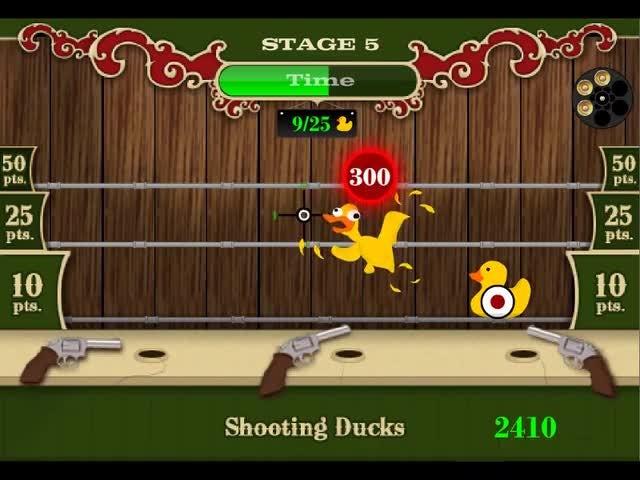 Shooting Ducks Game