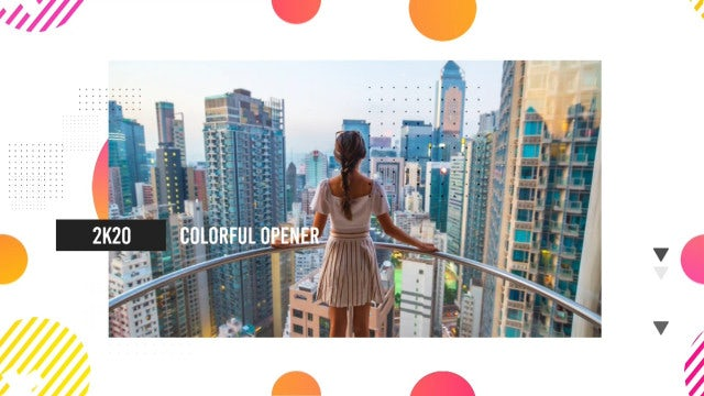 Colorful Opener: Premiere Pro Templates