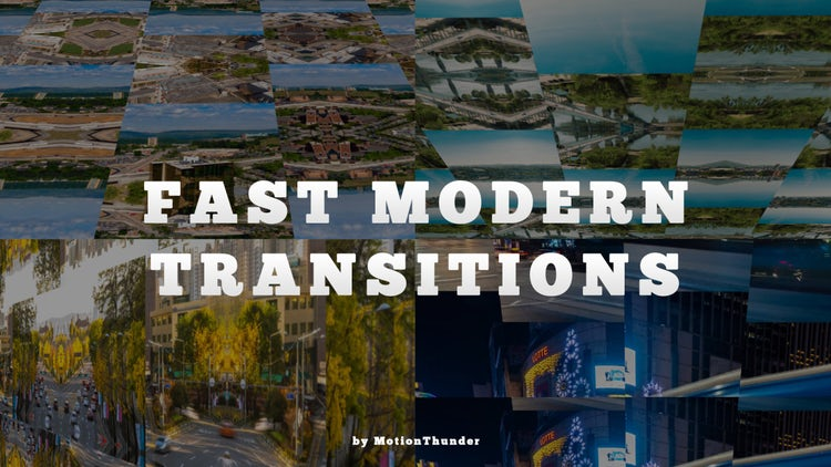 Transitions – Fast Modern – After Effects Presets | Motion Array Free Download