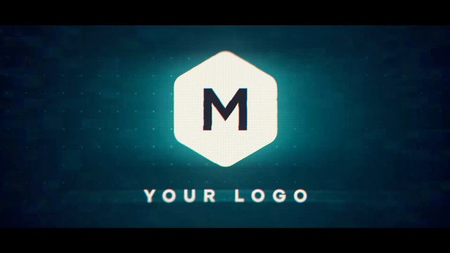 Colorful Flash Logo: After Effects Templates