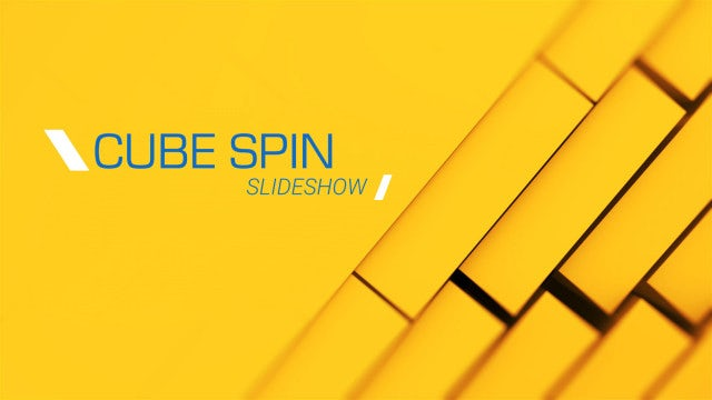 3d cubes spin slideshow after effects templates motion. Black Bedroom Furniture Sets. Home Design Ideas