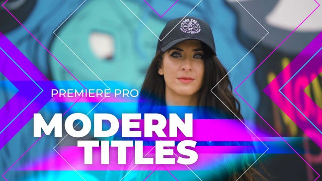Colorful Full-Screen Titles: Premiere Pro Templates