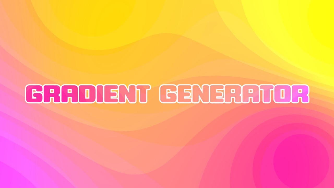 Gradients Background Generator After Effects Templates Motion Array