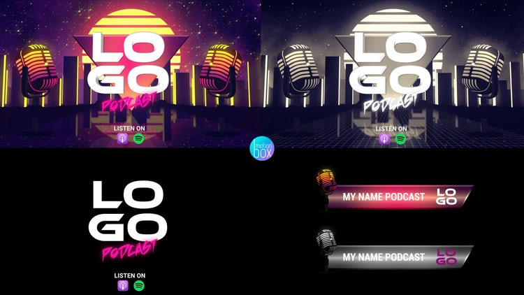 Podcast Pack: After Effects Templates