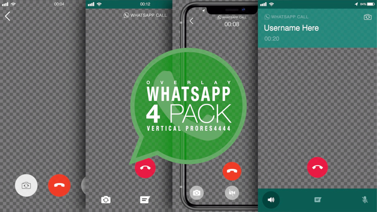 Whatsapp Video Call Pack Stock Motion Graphics Motion Array