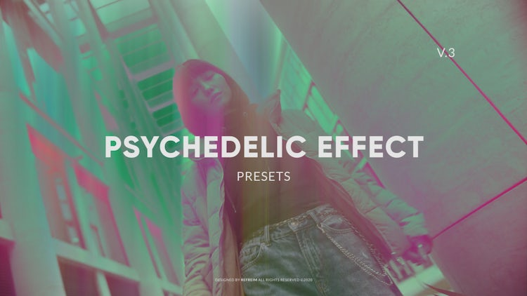 Psychedelic Effect 3 – After Effects Presets | Motion Array Free Download