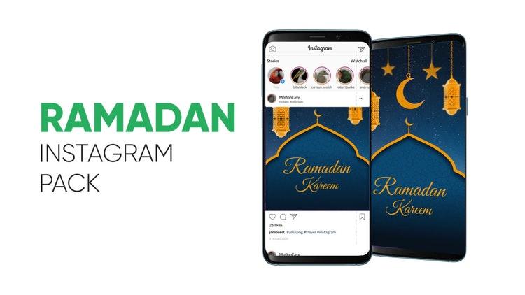 Ramadan – Instagram Pack MotionArray Free Download