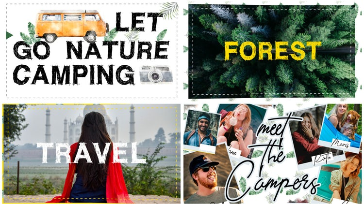 Camping Travel Adventure – After Effects Templates | Motion Array Free Download