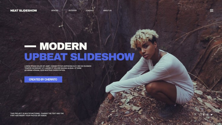 Modern Upbeat Slideshow – Premiere Pro Templates | Motion Array Free Download