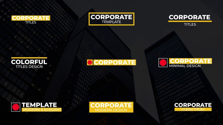 Big Corporate Titles – Premiere Pro Templates | Motion Array Free Download