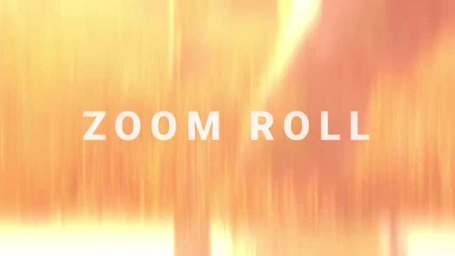 Film Roll: Zoom Roll: Transitions