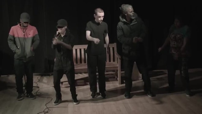 Cardboard Citizens homeless charity annual Arts Drama Music Poetry Event