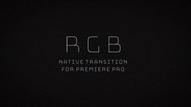 Glitch: RGB: Transitions