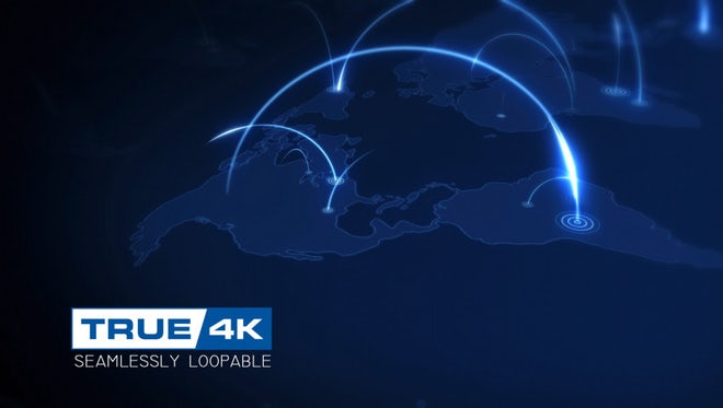 Global Connection Background: Stock Motion Graphics