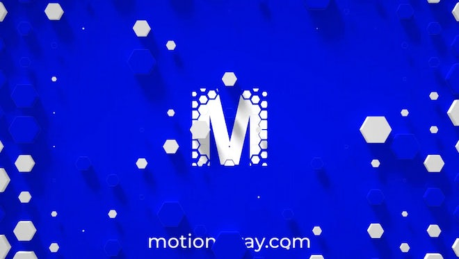 Honeycomb Logo Opener: After Effects Templates