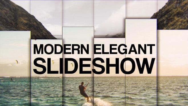 Modern Elegant Slideshow: Premiere Pro Templates