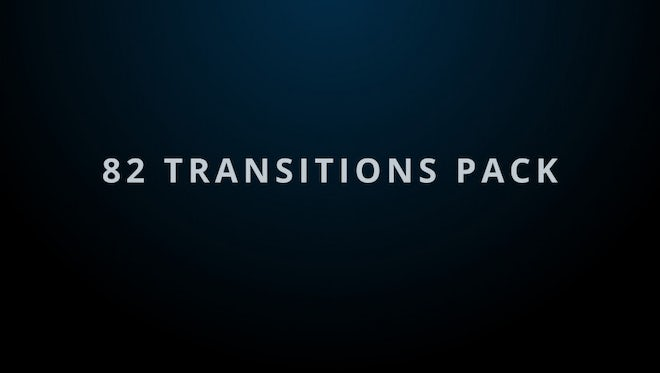 82 Matte Transitions Pack: After Effects Templates