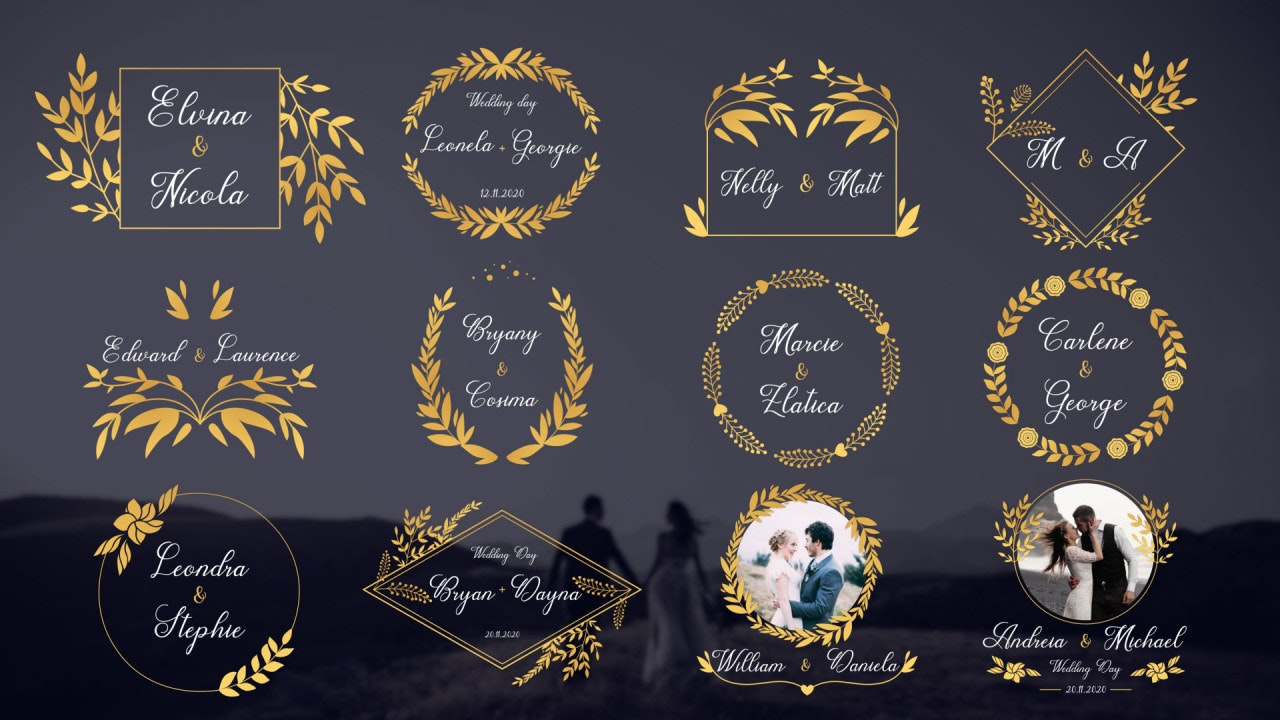 Title wedding cards