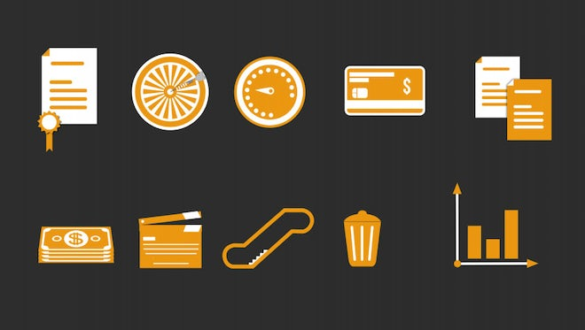 Animated Icons: Stock Motion Graphics