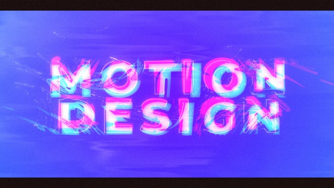 Liquid Glitch Intro: After Effects Templates