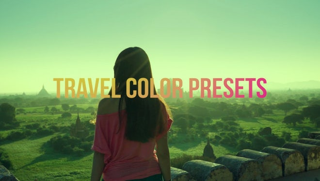 Travel Color Presets: Premiere Pro Presets