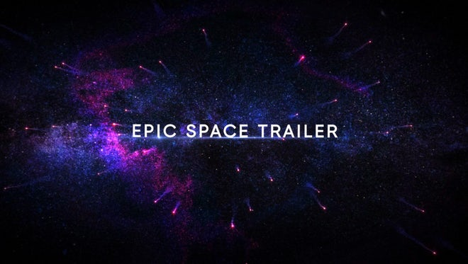 Epic Space Trailer: After Effects Templates