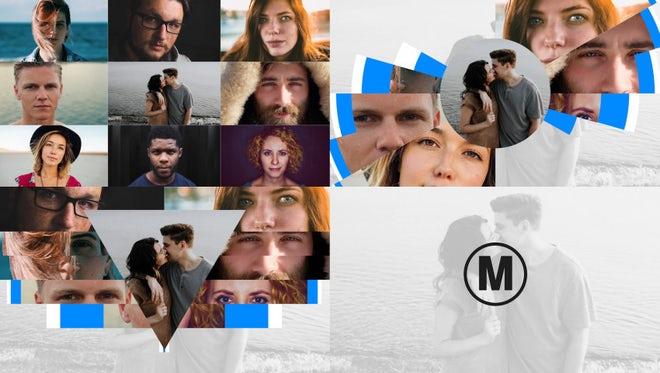Geometric Multi Image Logo: Premiere Pro Templates