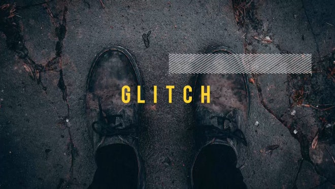 Glitch Slideshow: Premiere Pro Templates