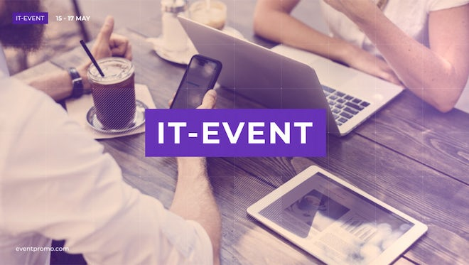 IT Event Promo: After Effects Templates