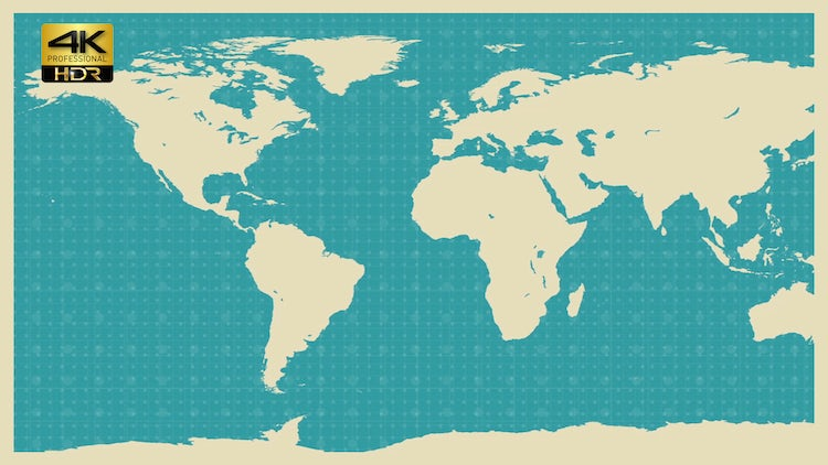 World map background stock motion graphics motion array world map background stock motion graphics publicscrutiny Image collections