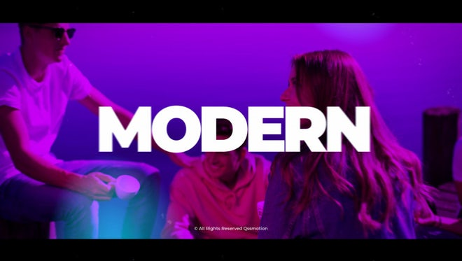 Modern & Clean Opener: After Effects Templates