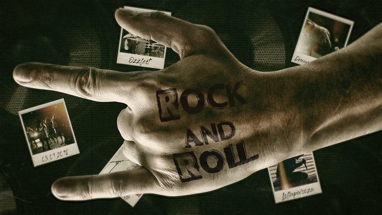 Rock'n'Roll: Premiere Pro Templates