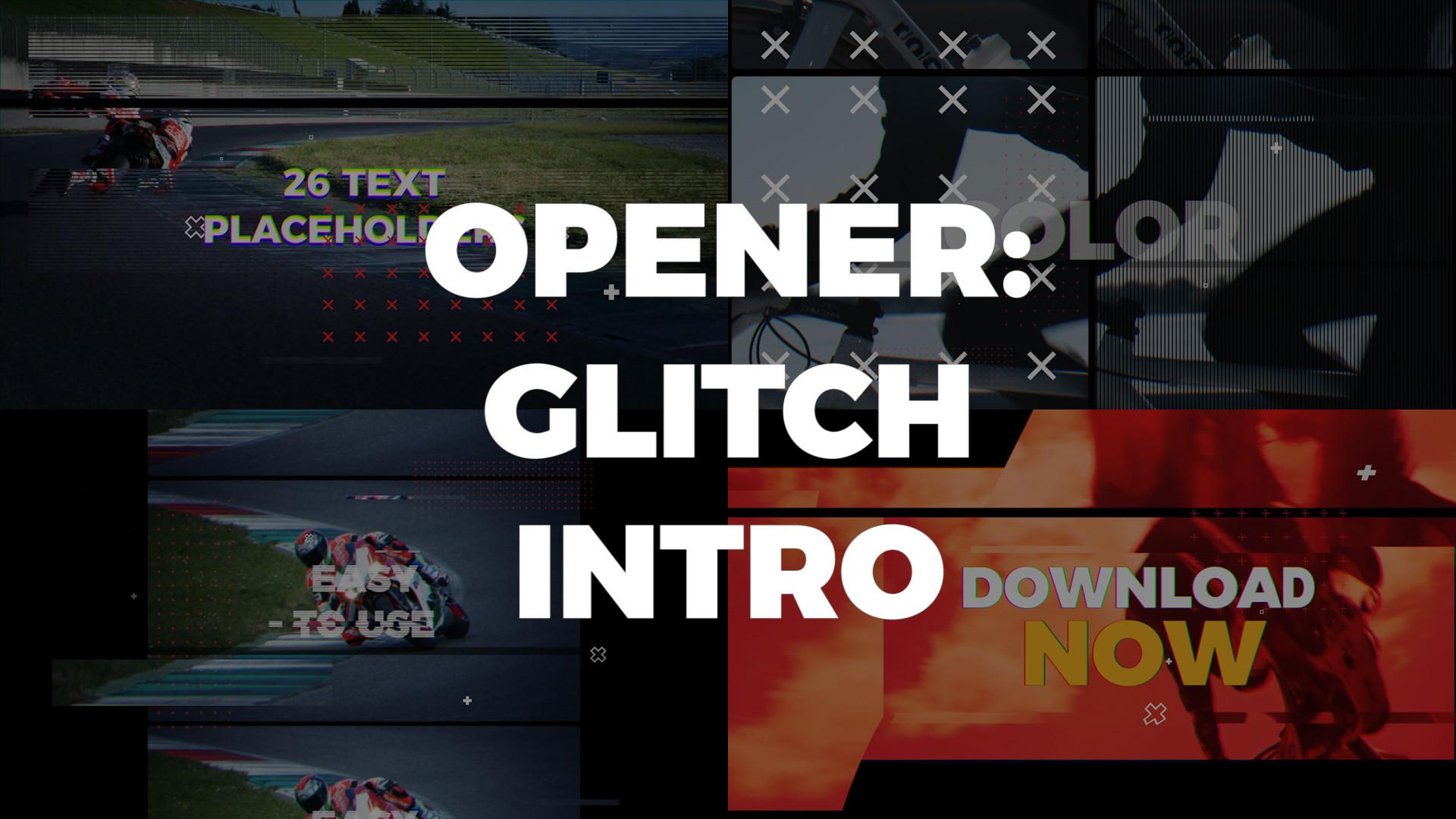 Glitch Intro - Premiere Pro Templates 85499