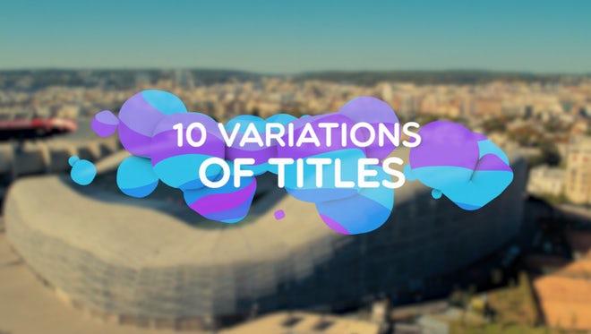 Color Elements Titles: Premiere Pro Templates