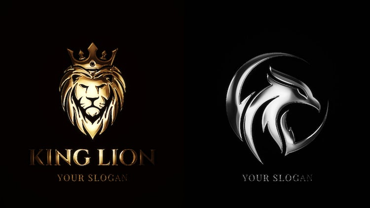 Gold & Silver Logo Reveal – After Effects Templates   Motion Array Free Download