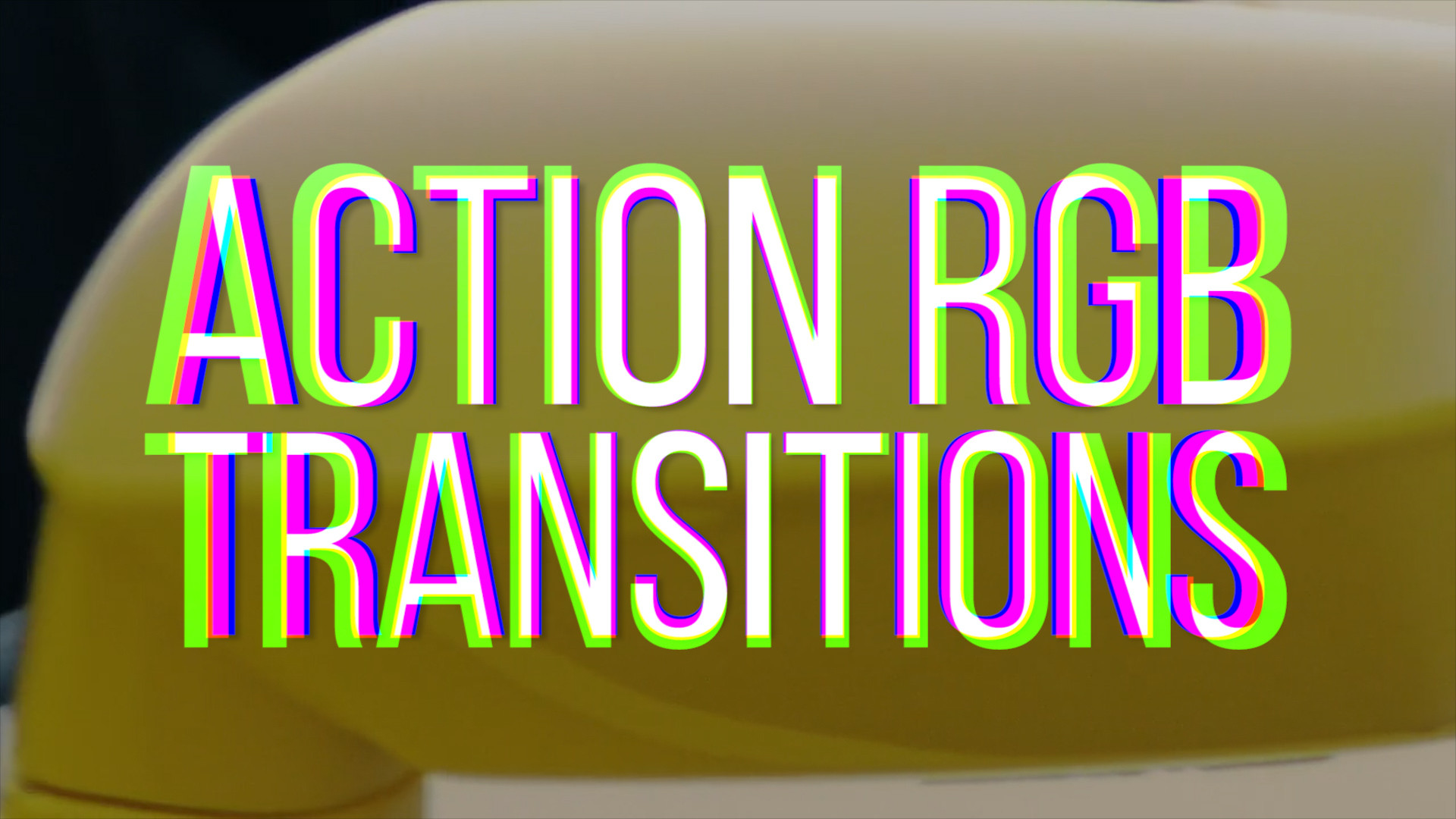 RGB Action Transitions - Premiere Pro Templates 85987