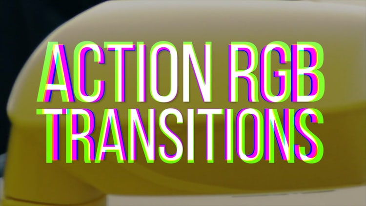 RGB Action Transitions: Premiere Pro Templates
