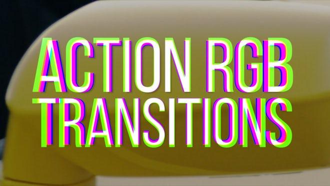 RGB Action Transitions: Premiere Pro Templates