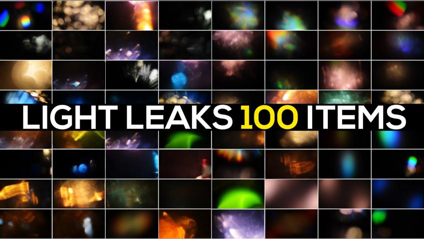 100 Light Leaks Pack 86586