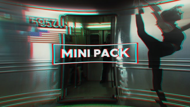 Mini Pack - Transitions, Titles And Color Presets: Premiere Pro Templates