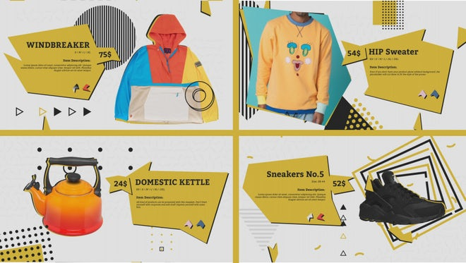 Hip Product Promo: After Effects Templates